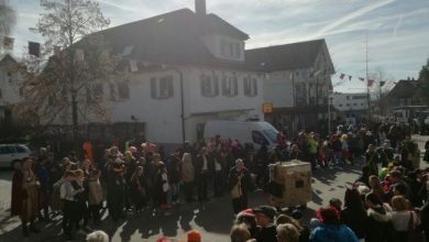 Photo of Faschingsumzug in Hörbranz 2017